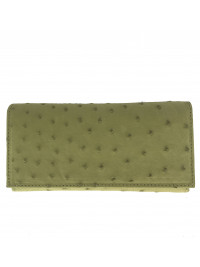 Exclusive 225 Ostrich Leather Purse