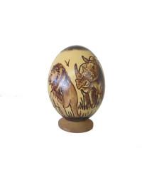 Ostrich Decoupage Eggs